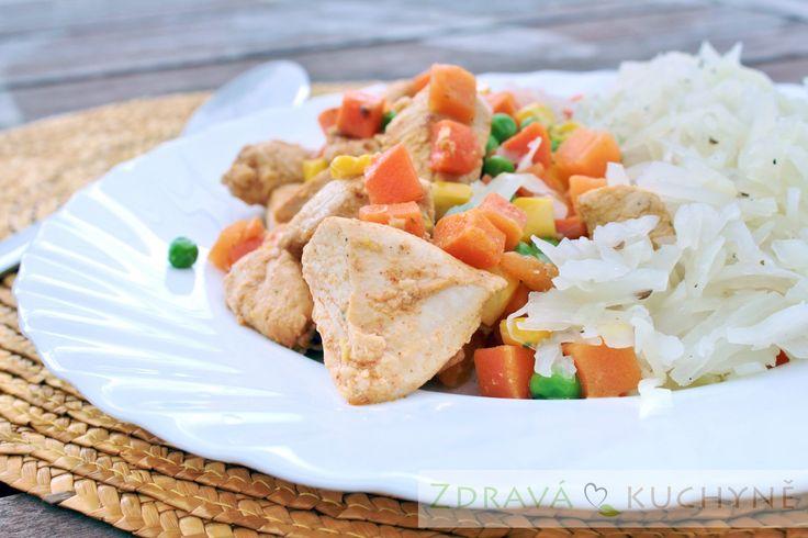 Teplá kuřecí zelenina