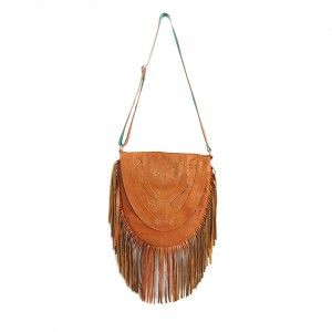 FAVELA HONEY LEATHER BAG