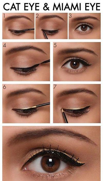 metallic-gold-eyeliner