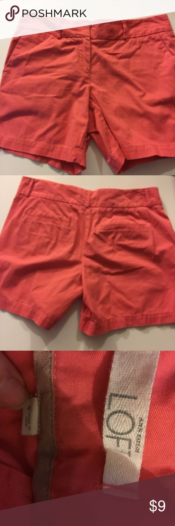✅2 for $15 Ann Taylor peach shorts Excellent condition. No tears, stains or marks. Combine with any item with a ✅ for a $15 bundle or add three more items for 30% Off Bundles. Ann Taylor Shorts