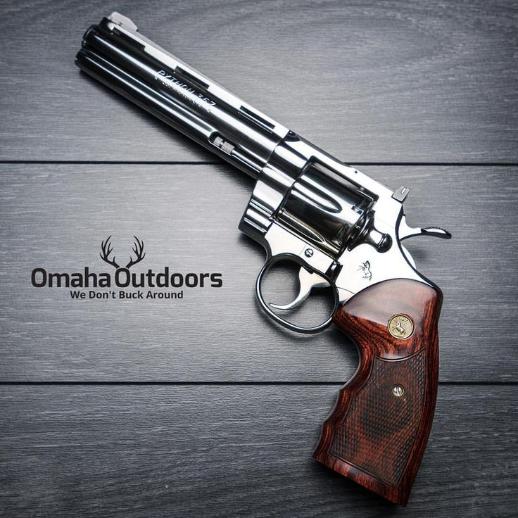 """Omaha Outdoors on Instagram: """"Colt Python Revolver Follow @omahaoutdoors if you haven't done so already."""