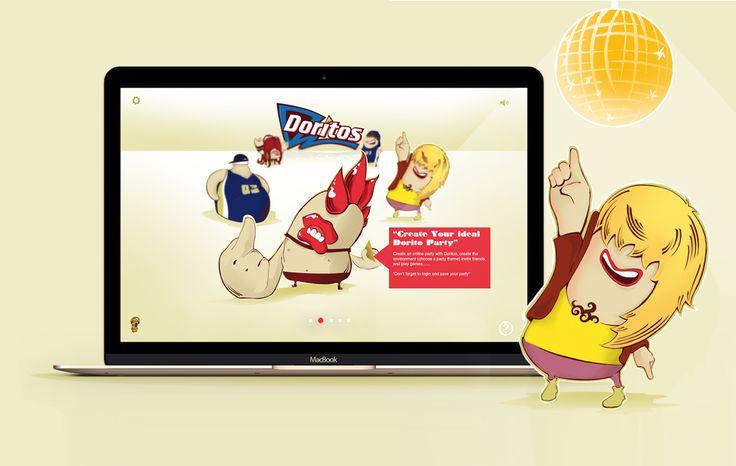 Come check out our Doritos Web Design project by Emblem - www.emblem.ie