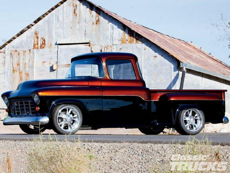 1955 Chevrolet. Spectacular paint!
