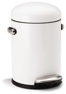 25 best kitchen trash cans ideas on pinterest hidden trash can kitchen trash can cabinet and - White kitchen trash cans ...
