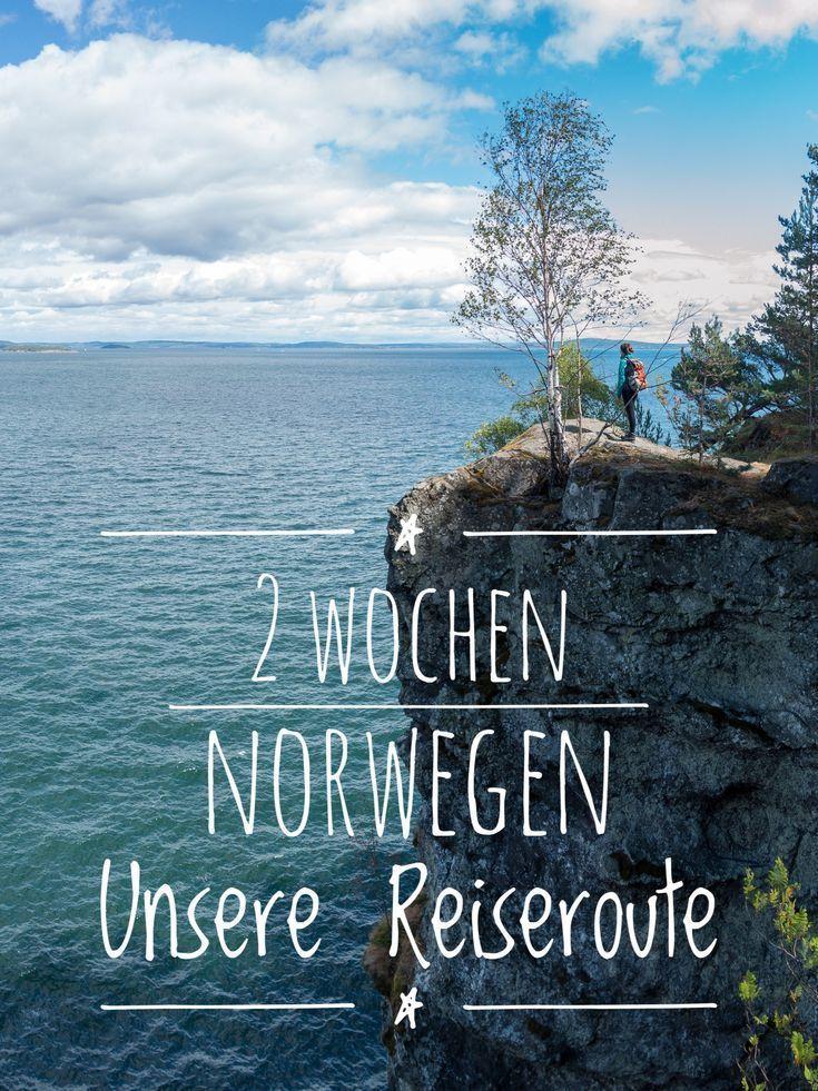 2 Wochen Norwegen Urlaub: Unsere Reiseroute Norwegen mit Mietwagen zum Nachfahren