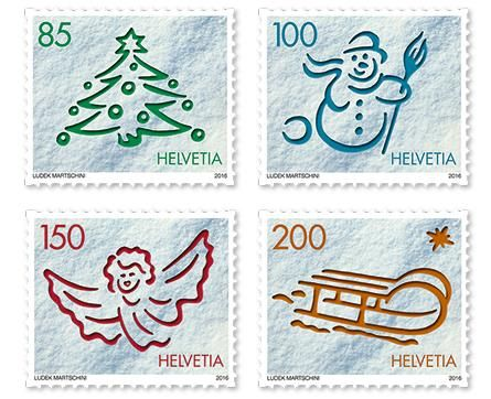 Christmas stamps – Switzerland