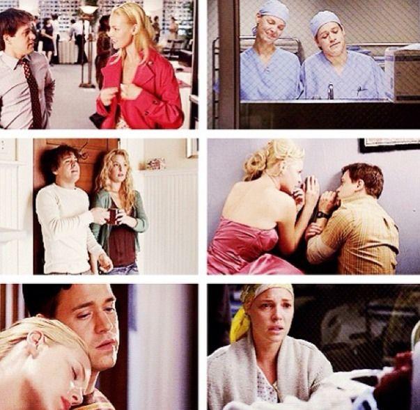 Grey's Anatomy - George and Izzie