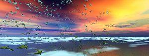 Fortuitous Flock by Xadrik-Xu