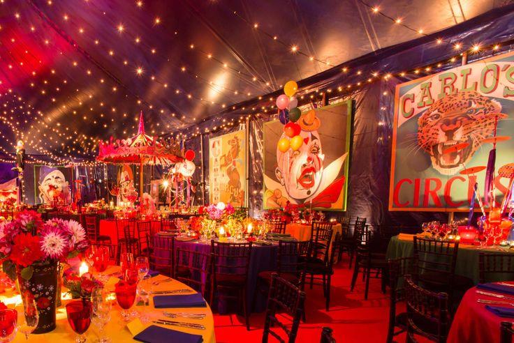 Circus Themed Wedding Reception Google Search Circus