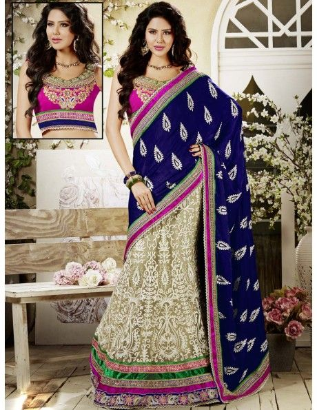 Bharat plaza gives you a complete outlook on the latest bridal lehenga. Auspicious Look Lehenga Choli. http://www.bharatplaza.com/women/lehengas.html