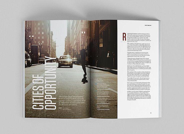 Editorial Design Inspiration: Global Cities Report