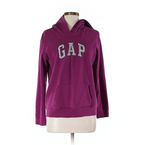Pre-owned Gap Pullover Hoodie Size 8: Purple Women's Tops (21 CAD) ❤ liked on Polyvore featuring tops, hoodies, purple, purple hooded sweatshirt, gap hoodies, sweatshirt hoodies, gap tops and hooded sweatshirt
