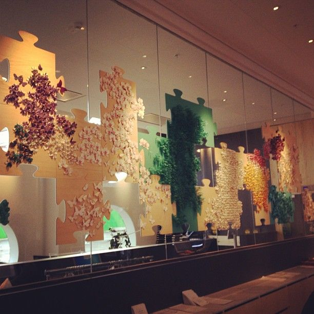 #Puzzle #art at the new Quality Hotel Friends in Stockholm - Instagram photo by @qualityhotelfriends (Quality Hotel Friends)