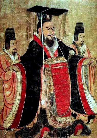 Imgen de emperador chino del siglo VII.