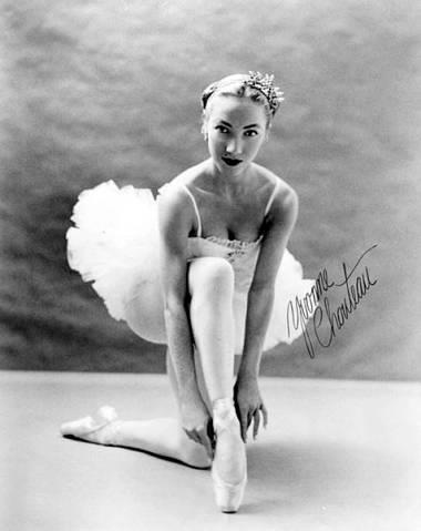 """Myra Yvonne Chouteau is one of the """"Five Moons"""" or Native Shawnee prima ballerinas of Oklahoma. In 1962 she and her husband founded the first fully accredited university dance program in the United States, at the University of Oklahoma."""