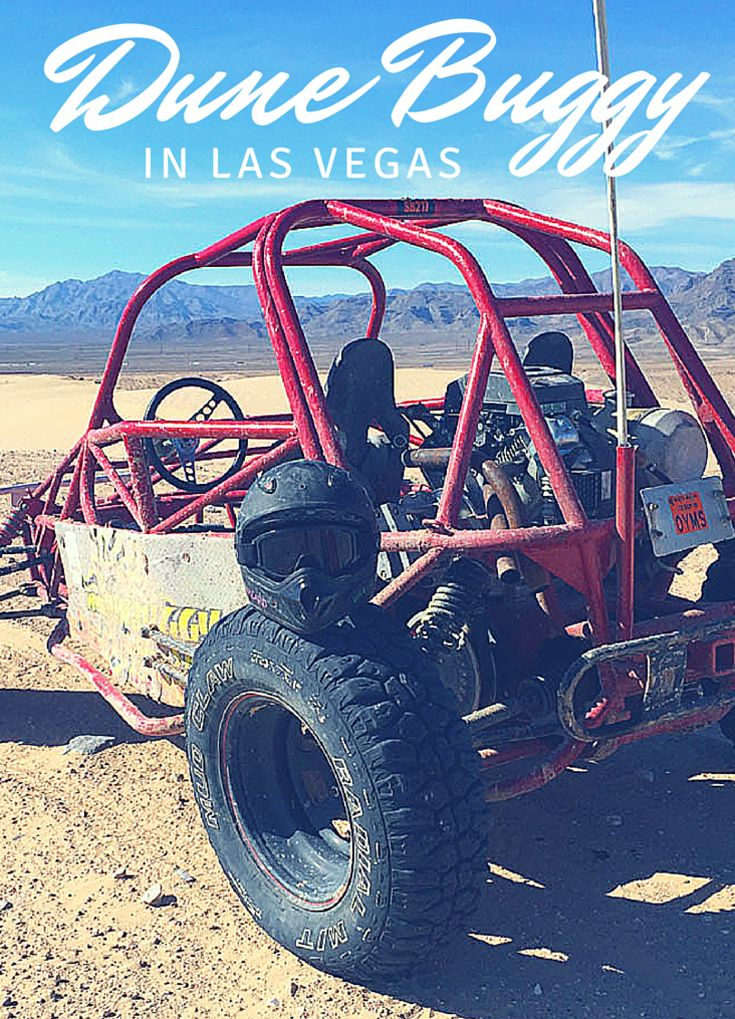 Dune Buggy in the Las Vegas desert. Great fun for the whole family with one, two and four person buggies available.