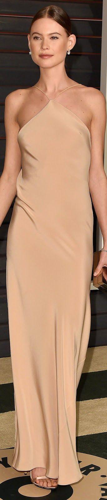 Behati Prinsloo 2015 Vanity Fair Oscar Party / Behati Prinsloo in Calvin Klein