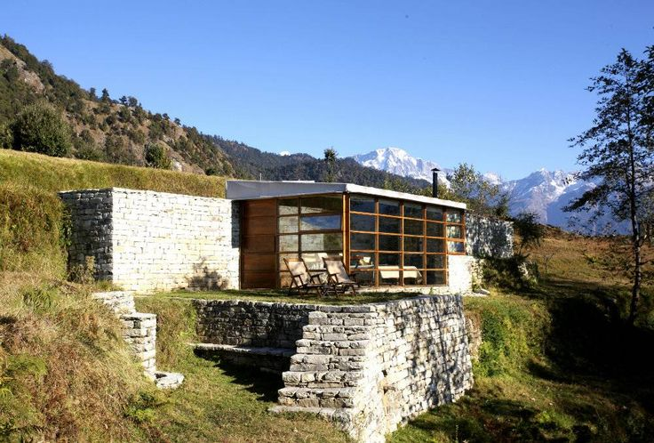 Shakti 360 Leti, Uttarakhand The jagged white peaks of the Hiramani glacier bear down on you from the north, while to the east, Nepali snow-caps twinkle in the glittery distance—Shakti 360 Leti is all about living in the lap of solar-powered luxury.