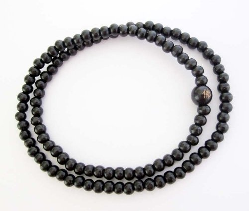 A Japa mala or mala (meaning garland)  is a set of beads commonly used by Hindus and Buddhists, usually made from 108 beads, though other numbers, usually divisible by 9, are also used. Malas are used for keeping count while reciting, chanting, or mentally repeating a mantra or the name or names of a deity. This practice is known in Sanskrit as japa. Malas are typically made with 19, 21, 27, 54 or 108 beads. In Tibetan Buddhism, traditionally mal...