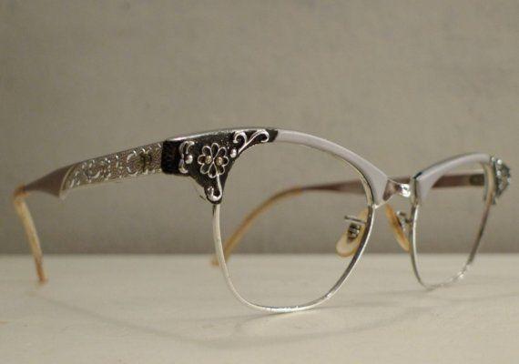 floral cat eye glasses