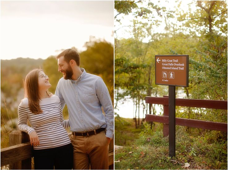 rustic engagement photography session at Great Falls National Park in Maryland by Virginia rustic wedding photographer Mollie Tobias photography.