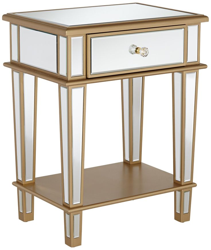 1000 ideas about mirrored end table on pinterest mirrored accent table end tables and mirrors. Black Bedroom Furniture Sets. Home Design Ideas