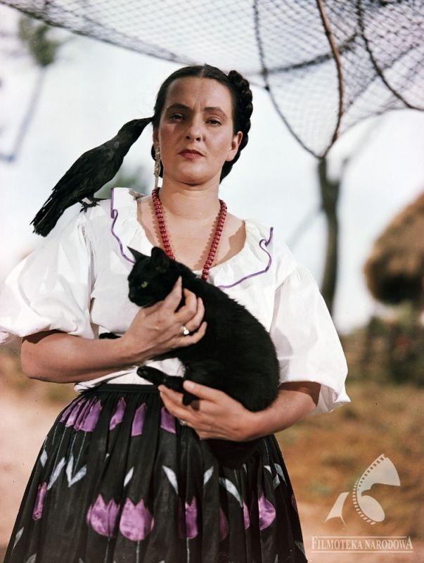 Hanna Skarżanka - WARSZAWSKA SYRENA (dir. Tadeusz Makarczyński, 1955)