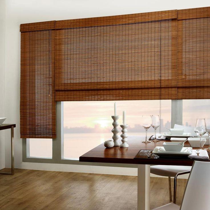 Tahiti Bamboo Roman Shade/BAMBOO/ROMAN/SHADES/WINDOWS|Bouclair.com