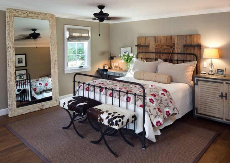 Les 25 meilleures id es de la cat gorie t te de lit en fer for Decoration des chambres de nuit