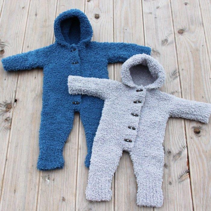 62c287b5 Teddy Baby Køredragt (Strik) fra Go Handmade | Knit for kids | Baby, Baby  knitting, Knitting for kids