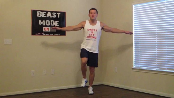 5 Minute Calf Workout at Home - HASfit Calves Exercise - Best Calf Exerc...