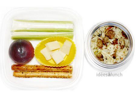 Idées à lunch: Chaud/Hot
