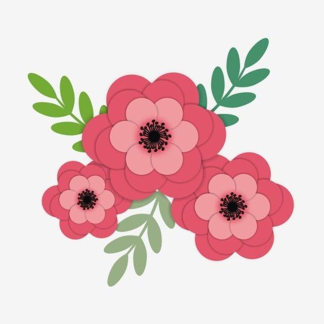 Pink Flower Vector Illustration Flower Clipart Flowers Flower Illustration Png And Vector With Transparent Background For Free Download Flower Illustration Flower Clipart Pink Flowers Background