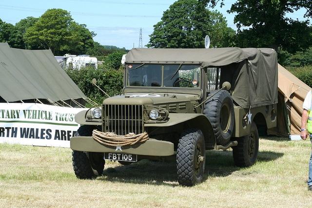 U.S. Army 3/4-ton Dodge Power Wagon. Like my Dad drove in WWII