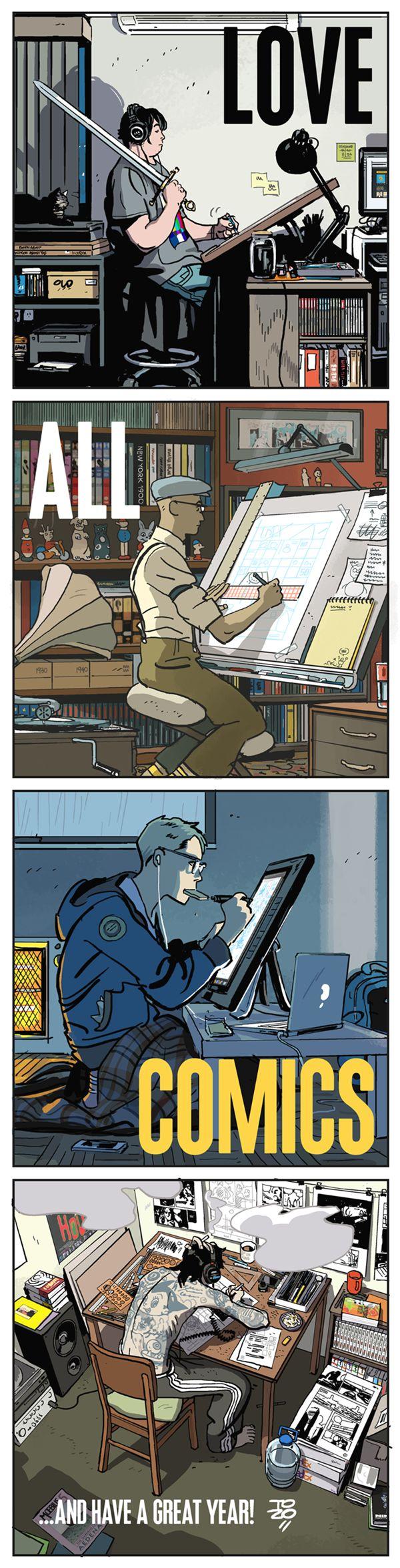 Love All Comics by Tonci Zonjic