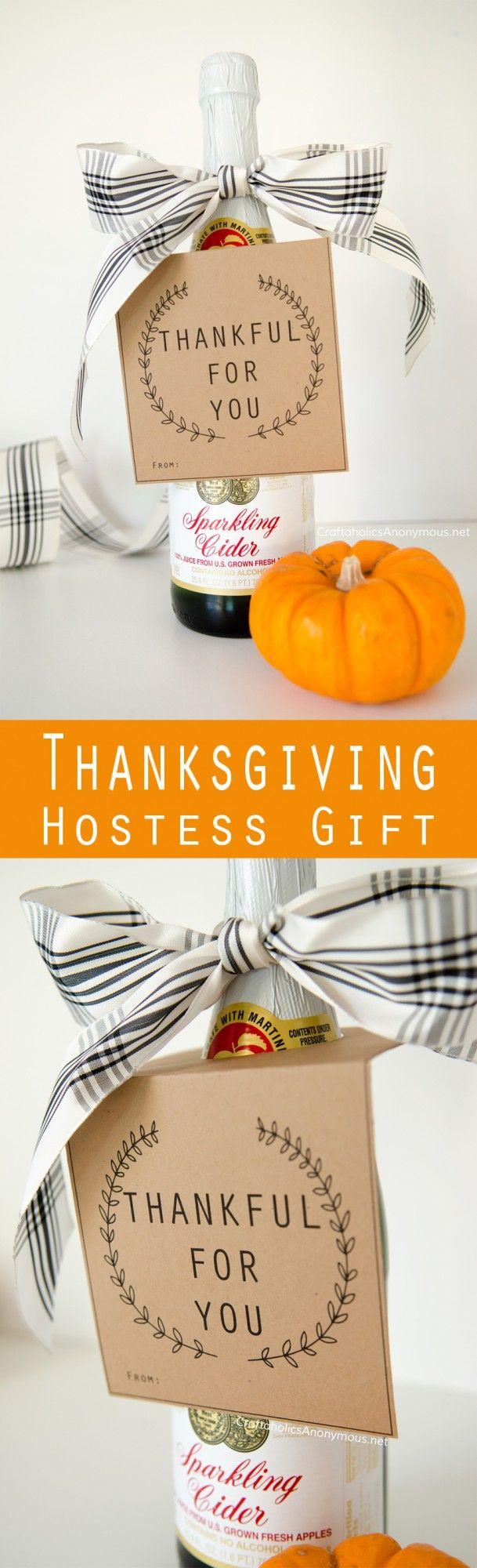 Thanksgiving Hostess Gift Idea :: makes a great Thanksgiving Teachers gift idea as well
