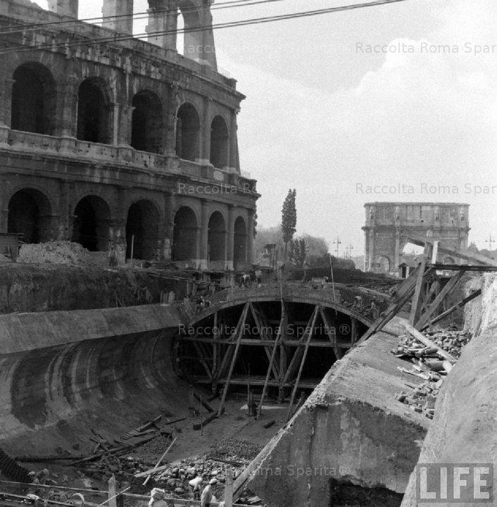 Roma Sparita - Colosseo 1940