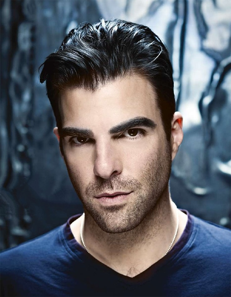 Zachary Quinto - it's his eyebrows that get me!