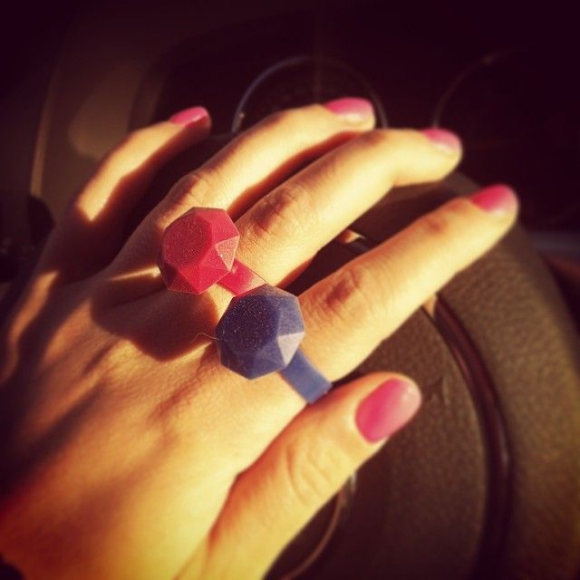Pink and Blue limited edition silicone rings - www.scicche.it