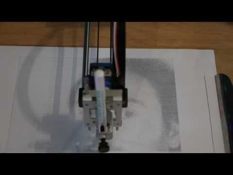 Squiggle Draw sine wave portrait - YouTube