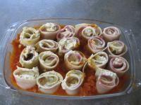 Rezept Lasagne-Röllchen mit Frischkäse-Füllung von kunokinder - Rezept der Kategorie sonstige Hauptgerichte