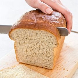 America's Test Kitchen easy sandwich bread in a 1/3 of the time