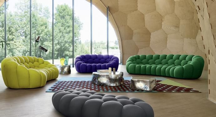 Iconic Designs Roche Bobois Bubble Collection Roche Bobois Sofa