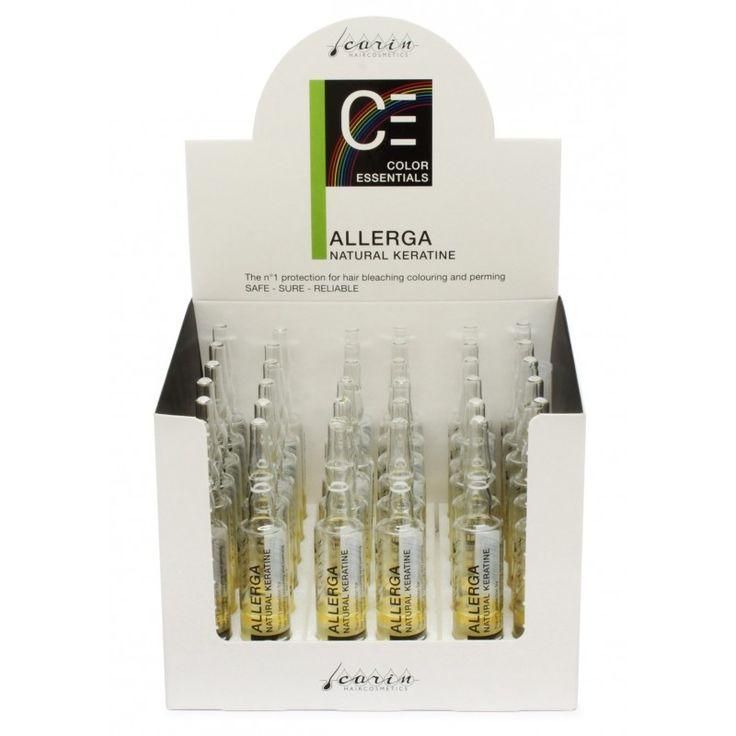 Allerga - keratina naturala concentrata Allerga - keratina naturala concentrata, fiole de 7.5 ml. efecte vizibile de la prima aplicare. Probabil cel mai eficient produs de pe piata. Web: www.CarinRomania.eu Tel: 0745 097054