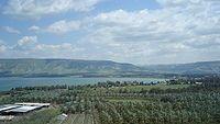 Mar de Galilea - Wikipedia, la enciclopedia libre