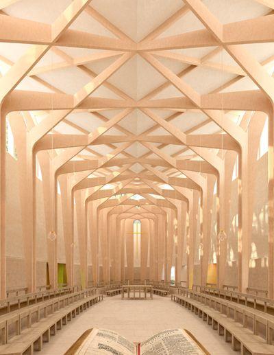 [A3N] : Chapel, Ripon College Cuddesdon, near Oxford / Niall McLaughlin Architects