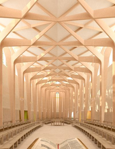 Niall McLaughlin Architects - Chapel, Ripon College Cuddesdon, near Oxford
