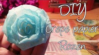 Paper Roses of Papieren Rozen maken - YouTube