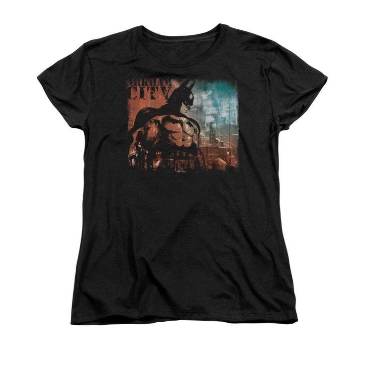Batman Arkham City - City Knockout Women's T-Shirt