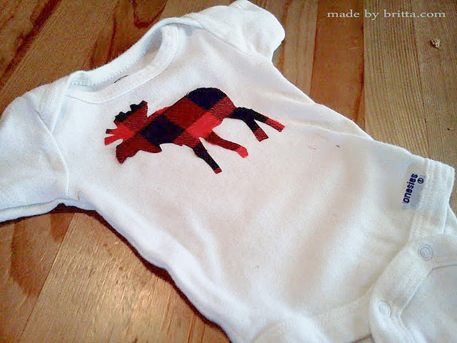 Applique Onsies- How To